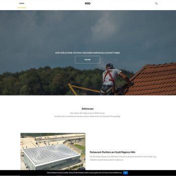 Dienstleistung Website